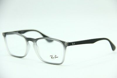 631840229a New Ray-Ban Rb 7045 5602 Gray Eyeglasses Authentic Frame Rx Rb7045 53-18