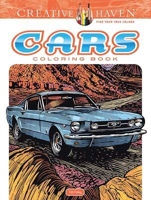 Dover Publications Cars Adult Coloring Book