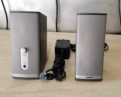 Bose companion 2 series II multimedia computer speaker system 2