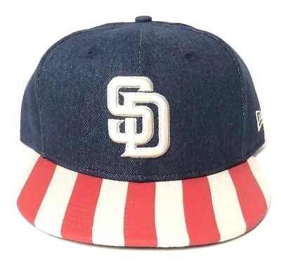 bfab3a709d552 New Era Men s 9fifty San Diego Padres Fully Flagged Snapback Hat Cap Brand  New