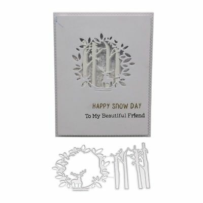 Trunk Metal Cutting Dies Stencil Scrapbooking Embossing Paper Card Home Decor