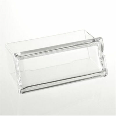 1PC Desktop Business Card Holder Display Stand Acrylic Plastic Desk Shelf Boss