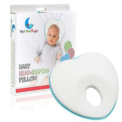 Newborn Baby Head Shaping Pillow | Flat Head Syndrome Prevention | Memory Foam