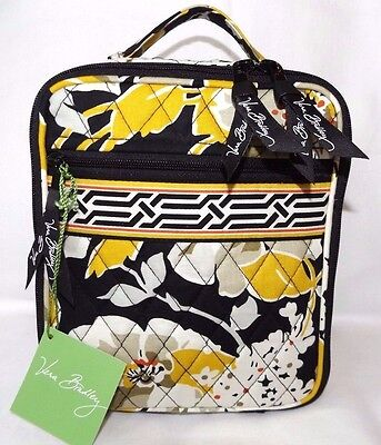 Vera Bradley Lunch Break Insulated Bag Or Cosmetic Case Dogwood - New With Tag