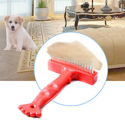 Pet Puppy Dog Cat Hair Shedding Grooming Trimmer Fur Comb Brush Slicker Tool