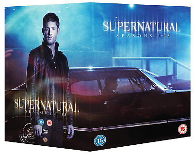 Supernatural Season 1-13 Complete Box Set UK DVD Region 2 Stock 2018 - Brand New