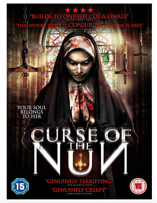 The Curse Of The Nun DVD UK Region 2 Stock - Brand New & Sealed