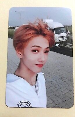 NCT 2018 Dream We Go Up Official Photocard Photo Card -  Jisung