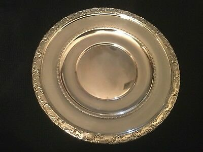 """Vintage Reed & Barton Sterling Silver 8"""" Plate X530"""