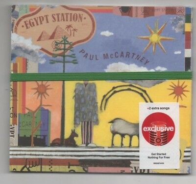 Paul McCartney Egypt Station 2018 Limited Edition Target CD 2 Extra Songs