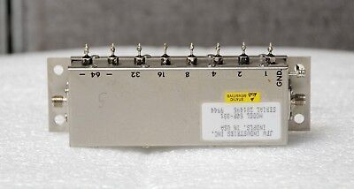 JFW Industries 50P-331 200 to 3000 MHz 127 dB SMA F Programmable Step Attenuator