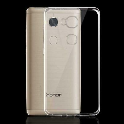 Case For Huawei Honor 5X / GR5 Ultra Thin Crystal Clear Soft Silicone TPU Cover