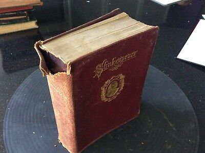 Antique Complete Works of William Shakespeare In One Volume