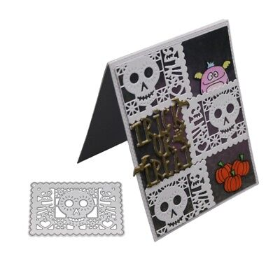 Skull Metal Cutting Dies Stencil Scrapbooking Embossing Paper Card Home Decor