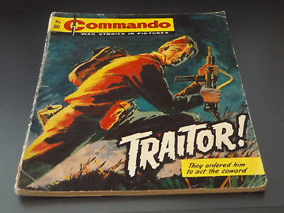 Commando War Comic Number 80!!,1963 Issue,good For Age,55 Years Old,v Rare.