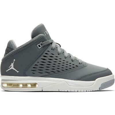 the latest d4817 2b4f4 Juniors NIKE JORDAN FLIGHT ORIGIN 4 BG Cool Grey Trainers 921201 004