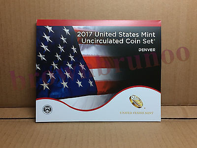 2017 D Uncirculated Coin Set 10 Coins United States Mint DENVER w/ COA