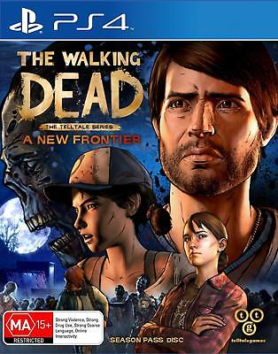The Walking Dead Telltale Series A New Frontier PlayStation 4 PS4 GAME BRAND NEW