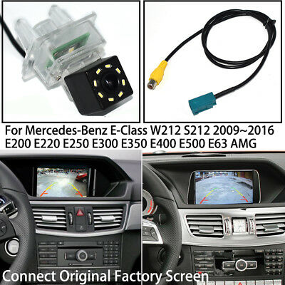 Car Rear View Reverse Backup Camera for Mercedes Benz E W212 S212 E200 E220 E300