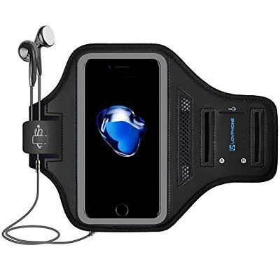 LOVPHONE iPhone 7/8 Plus Armband Sport Running Exercise Gym Sportband Case for 8