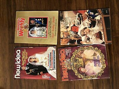 Royals Lady Diana The Royal Family Old Magazines & Special Edition Royal Wedding