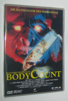 Ruggero Deodato BODY COUNT (1986) dvd import Germany