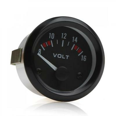 2Inch 52mm 12V Car Voltmeter Gauge Meter Volt Gauge Motor Vehicle DC8V-16V