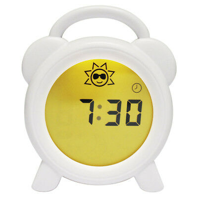 Baby Nursery Clock Sleep Training Alarm Day Night Light Changing Display