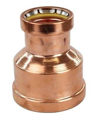 Conex Banninger B-PRESS GAS REDUCING COUPLING Copper- 80x40mm,80x50mm Or 80x65mm