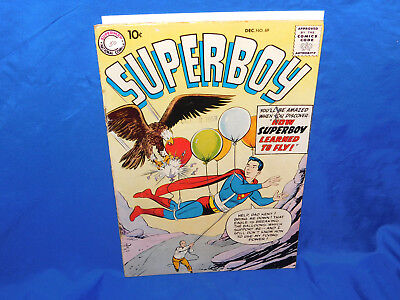 DC Comics SUPERBOY #69 How Superboy Learned To Fly GD