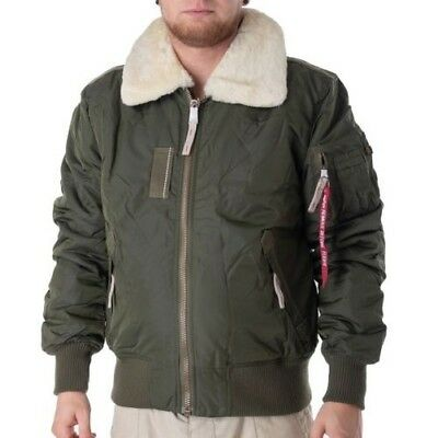 Alpha INDUSTRIES da Uomo Giacca Giacca Invernale Injector III patch S fino a 3xl NUOVO