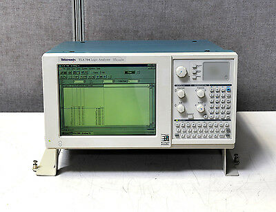 Tektronix Tla 704 Logic Analysator With Tla-7m4 Pass Selbst Cal