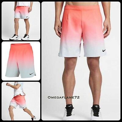 "Nike Court Ace Gladiator 9"" Tennis Shorts Mens XL  801716-890 Nadal"