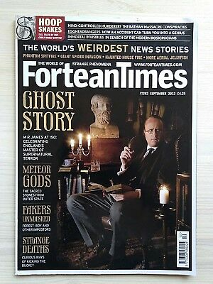 FORTEAN TIMES - SEPT 2012 - Ghost Story - M R James at 150 ... - FT292