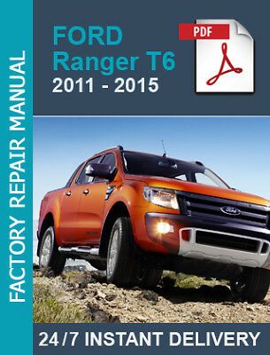 Ford Ranger T6 2011 2012 2013 2014 2015 workshop repair manual +Wiring