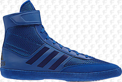 best service 0ae53 b2b55 Adidas Mens Combat Speed 5 Wrestling Shoes Boots AC7500 Royal Blue ...