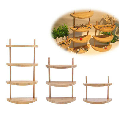 Wood Sunglasses Eyeglasses Rack Display Stand Glasses Holder Organizer Shelf