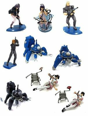 Ghost In The Shell STAND ALONE COMPLEX Shokugan Figure lot MEGAHOUSE 9LOT  nobox