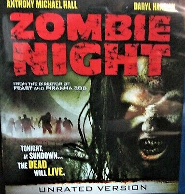 Zombie Night NEW! DVD,Unrated ,Daryl Hannah,Anthony Michael Hall,Widescreen