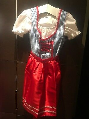 Authentic Oktoberfest Women's Dirndl Size 40 Ludwig & Therese Dress