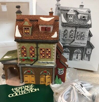 NEW 1994 Department 56 Dickens' Village Series - HATHER HARNESS - #5823-8