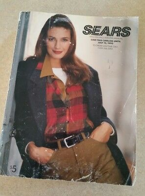Sears Roebuck Fall/Winter 1992-93 Annual Catalog