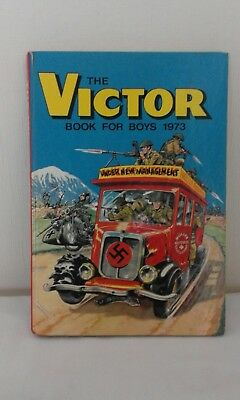 The Victor book for Boys (1973)- unclipped & vgc