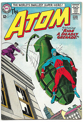 ATOM #10 VF 8.0 Higher Grade Classic Gil Kane Cover and Story!