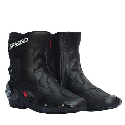 Motorcycle Boots Simple Fashion  Motorbike Shoes Road Race Skidproof Boots Hot
