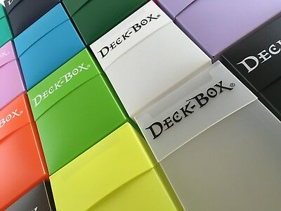 Ultra Pro Deck Box Card Storage For Yugioh!, Mtg, Pokemon Cards Many Colours!