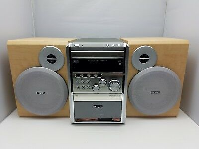Philips MCM9 Micro System stereo radio cd player cassette tape HI-FI