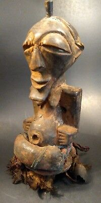 Museum Quality  Antique African Songye Power Figure - CONGO - Early 20th Century