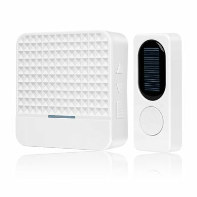 Solar Energy Wireless Doorbell Electric Bell Long Distance Calling Device TY