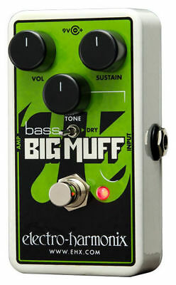 Electro Harmonix Nano Bass Big Muff Pi - Bass Fuzz Distortion